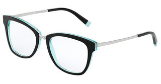 Tiffany TF2186 8274 BLACK/CRYSTAL BLUE